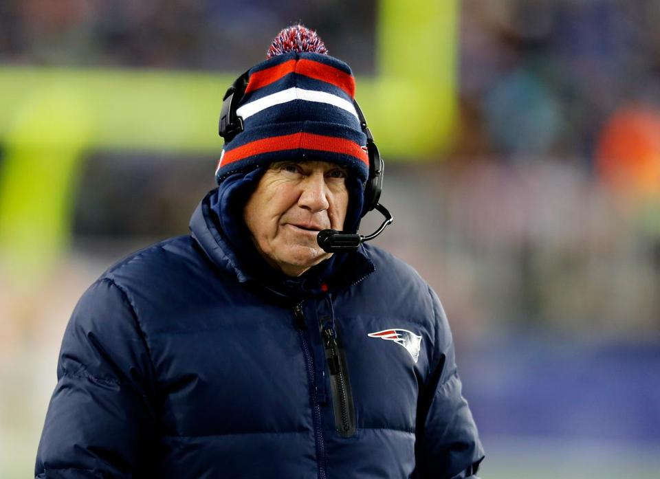 Bill Belichick opted to take the wind, instead of the ball, when overtime began.