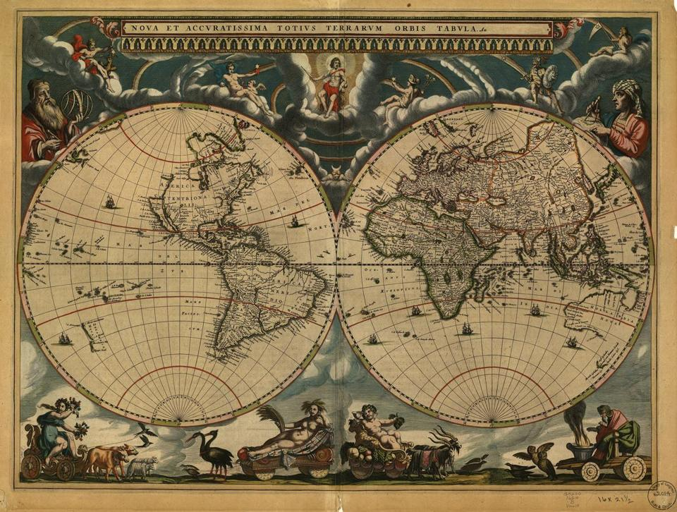 Book review a history of the world in 12 maps by jerry brotton atlas maior gumiabroncs Choice Image