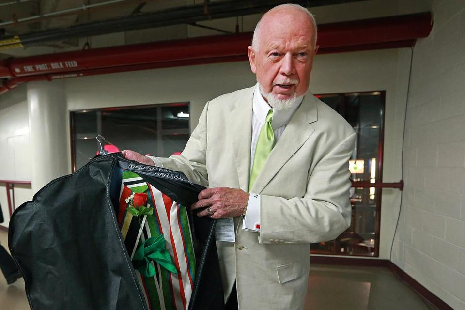 "Don Cherry is ""Hockey Night in Canada's"" main attraction."