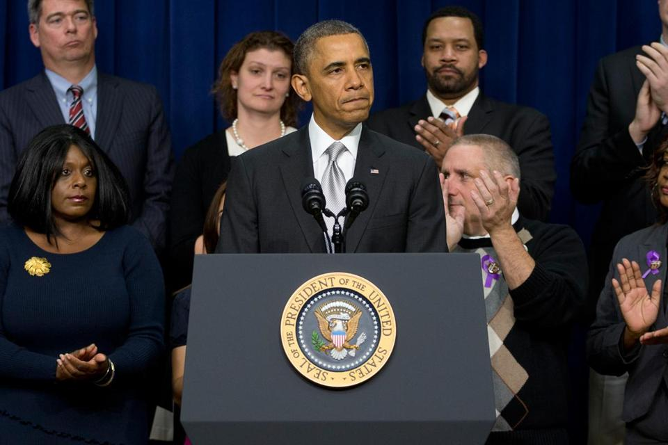 President Obama pledged to keep fighting back efforts to repeal the law for as long as he remained in the Oval Office.