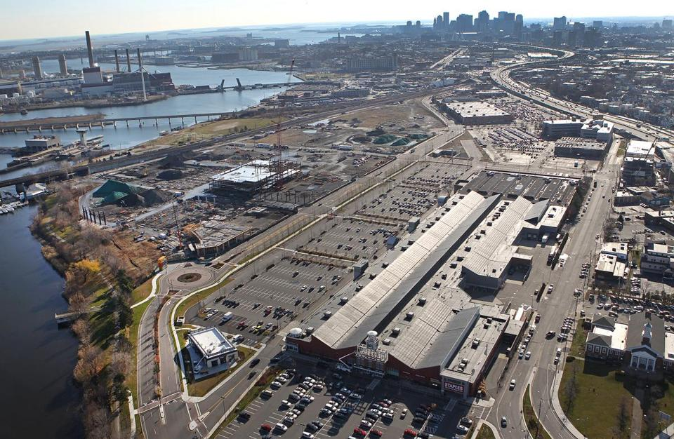 Partners said it expects to occupy up to 700,000 square feet at Assembly Row.