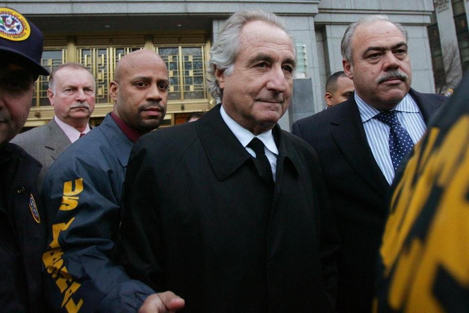 madofs scandal essay Five former employees of bernie madoff were found guilty of conspiracy on  monday as a jury ruled they had for years helped conceal his.