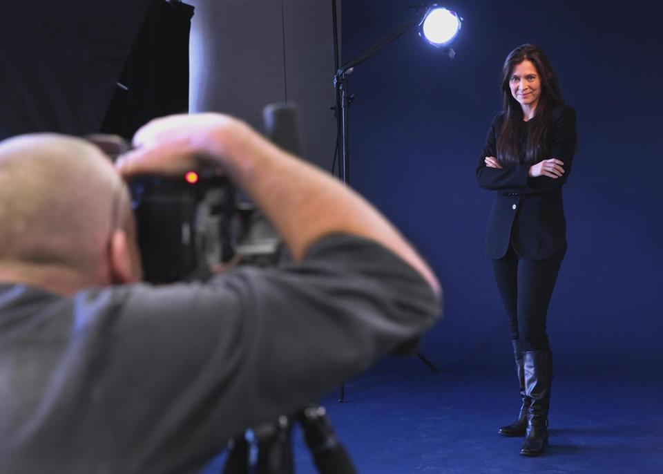 """Being a director . . .  is so much to me about being present in the moment,"" said Diane Paulus (pictured in a shoot for Boston magazine)."