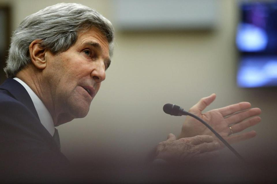 """I don't want to give the Iranians a public excuse to flout the agreement,"" John Kerry said."