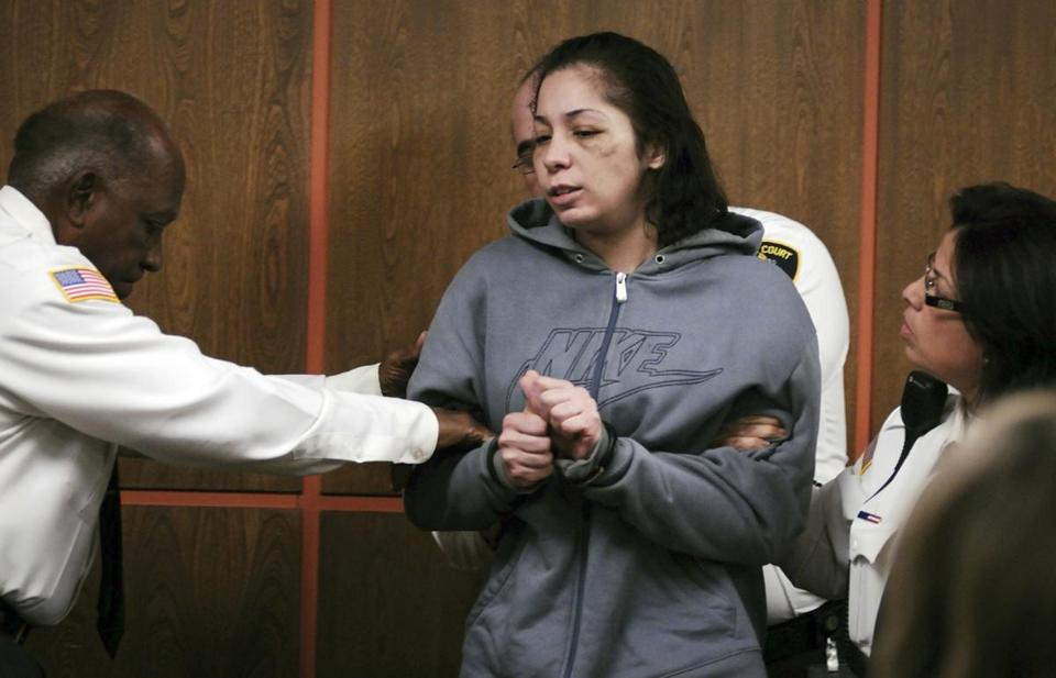 Elsa Oliver was arraigned in Fitchburg District Court in 2013.