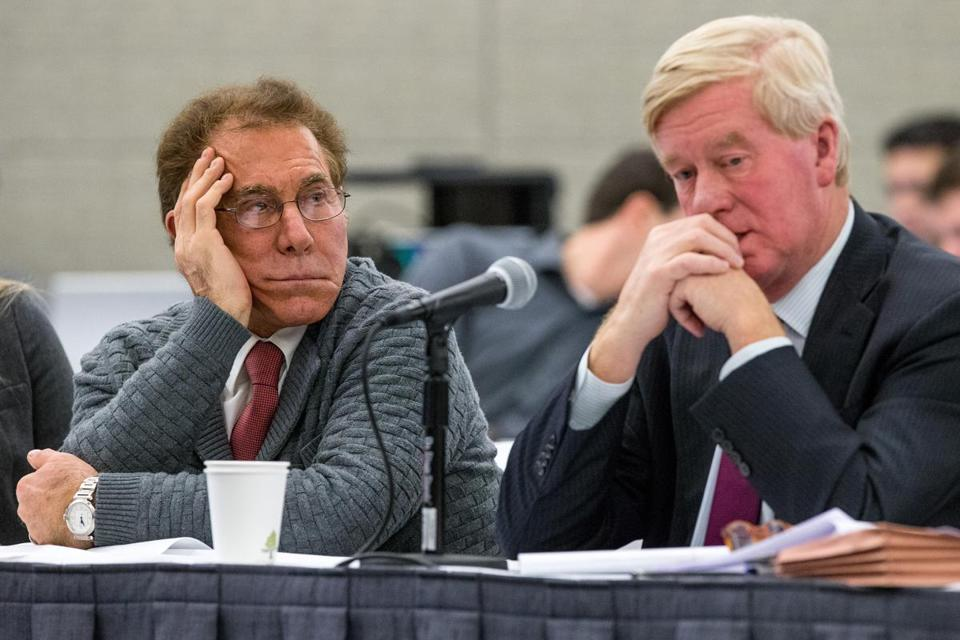 Developer Steve Wynn, represented by former governor William Weld, won an investigators' recommendation Monday that his company be considered fit to operate a casino in Everett.