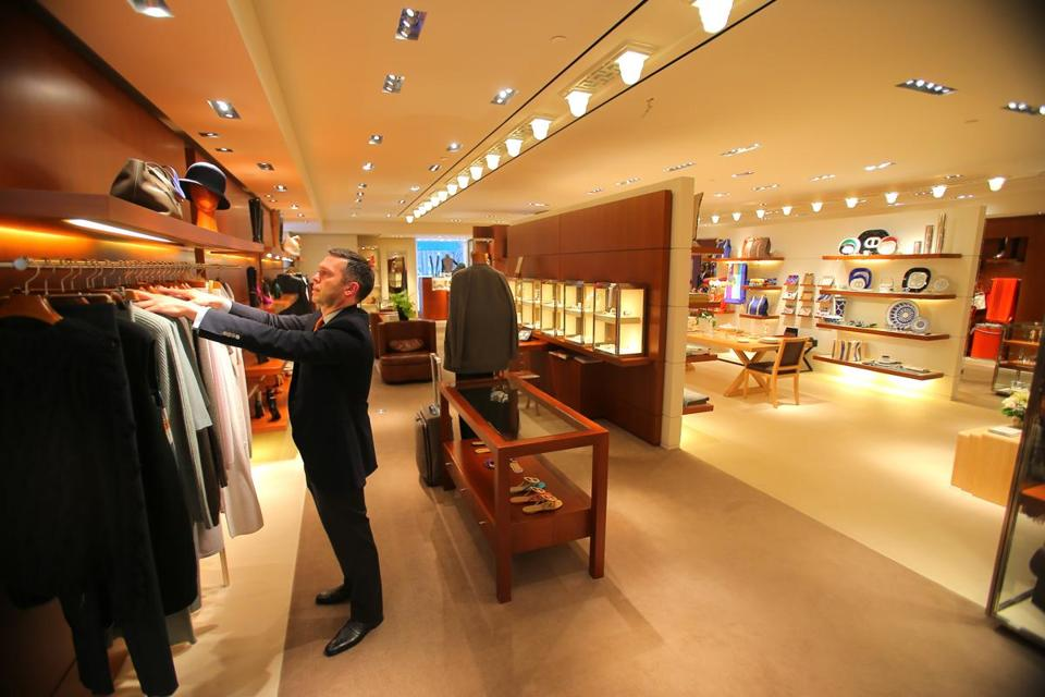 At the Heritage on the Garden building, Hermès is tripling the size of its store and expanding into a second floor.
