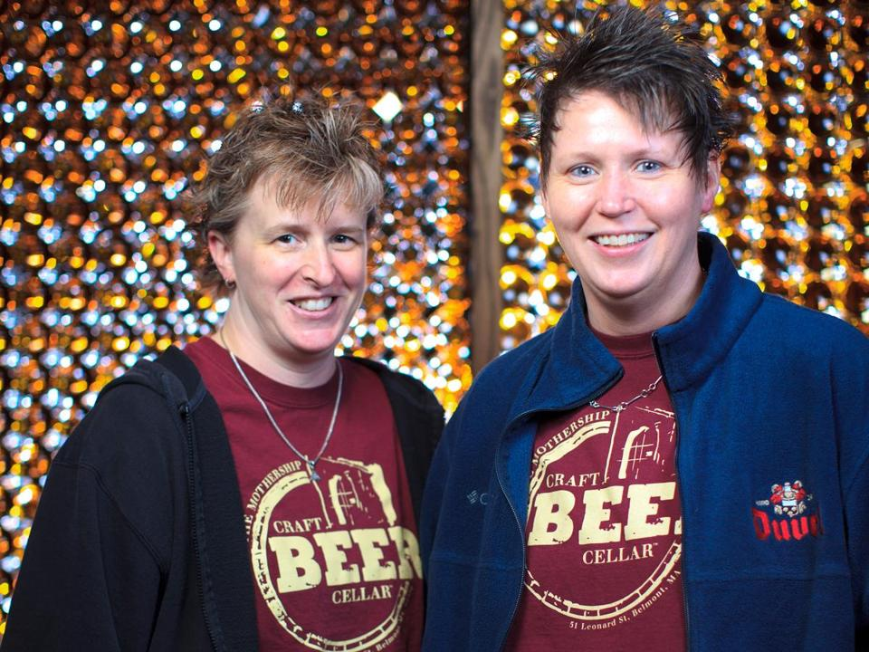 Kate Baker (left) and Suzanne Schalow are creating a national franchise of specialty beer stores.