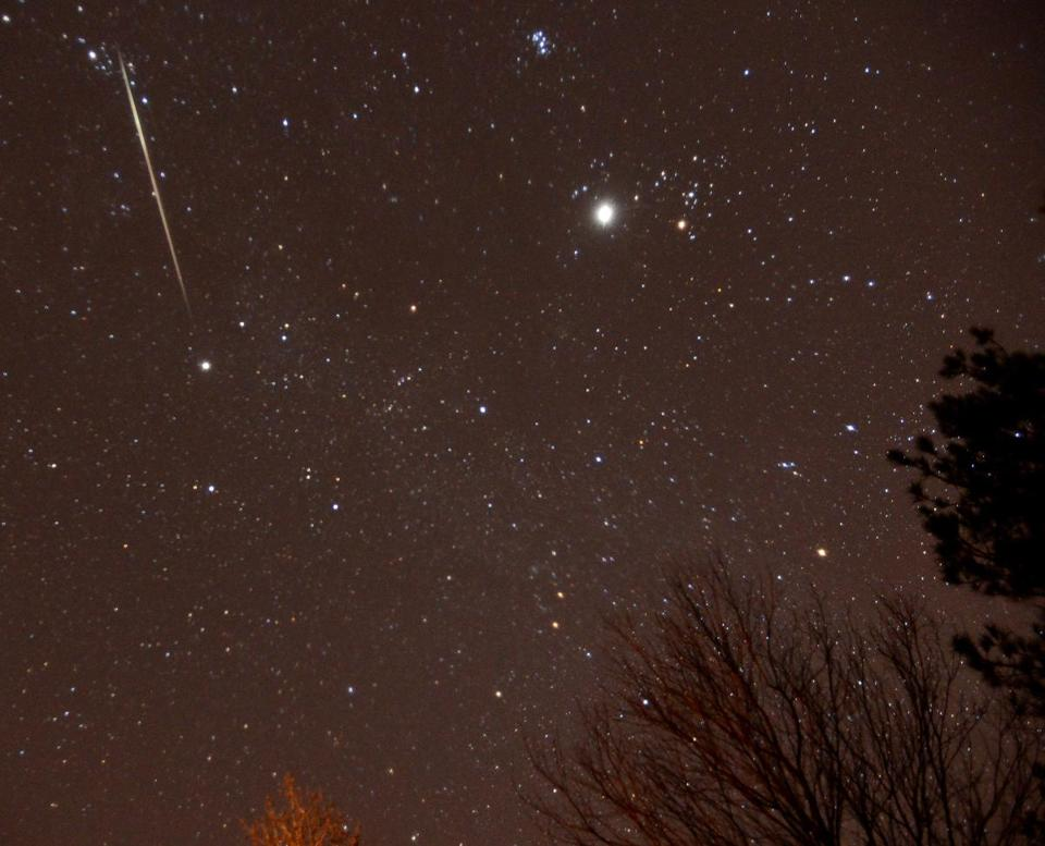 The 2017 Geminid meteor shower will light up the night this week