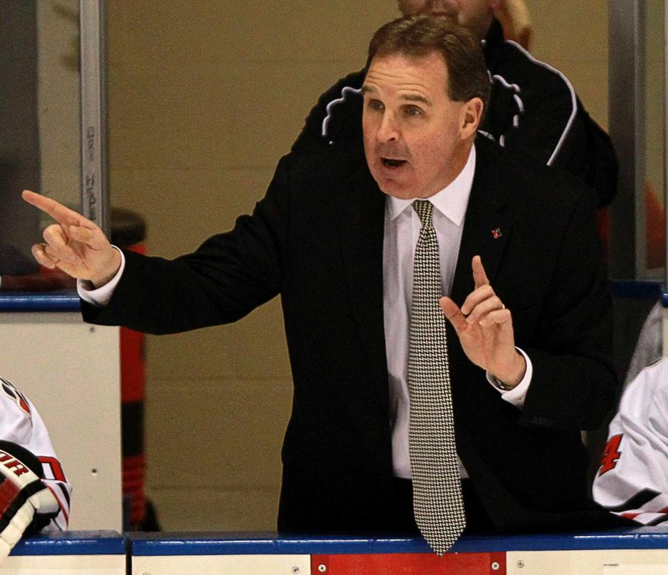 4cf55fd96481f Northeastern hockey coach Jim Madigan agrees to extension - The ...