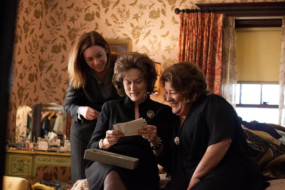 "From left: JULIANNE NICHOLSON, MERYL STREEP, and MARGO MARTINDALE in ""AUGUST: OSAGE COUNTY.''"