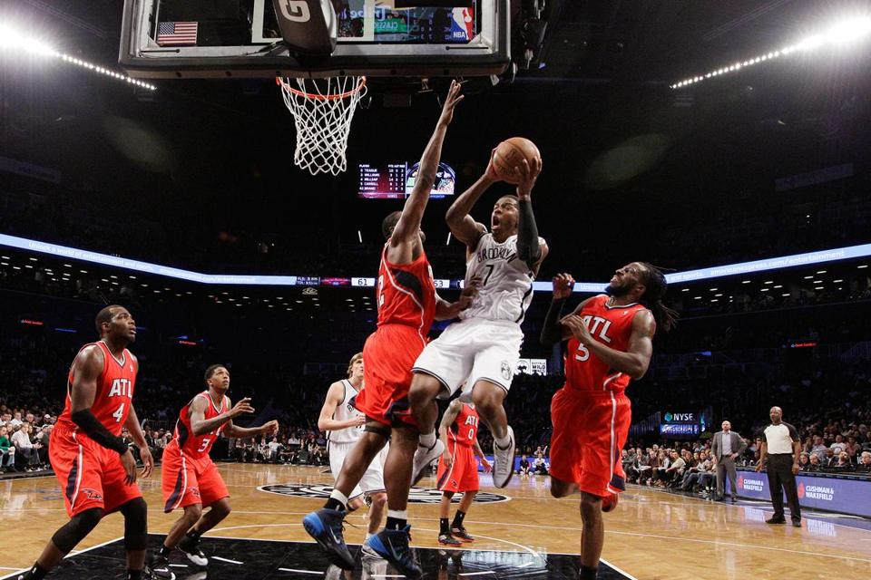 Joe Johnson snapped out of a slump with 23 points for the Nets.