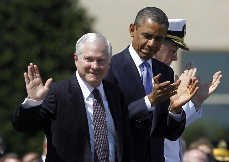 Robert M. Gates was a Republican holdover from the Bush administration who served two years under President Obama.