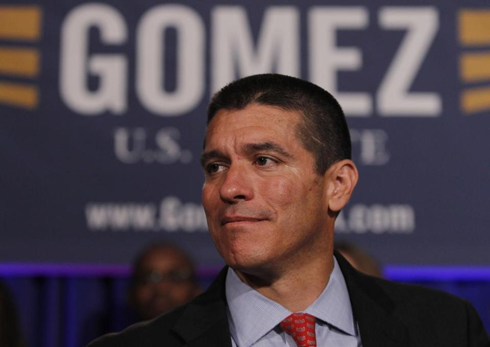 Gabriel Gomez has weaved in and out of the Republican voter registration lists over the last few years.