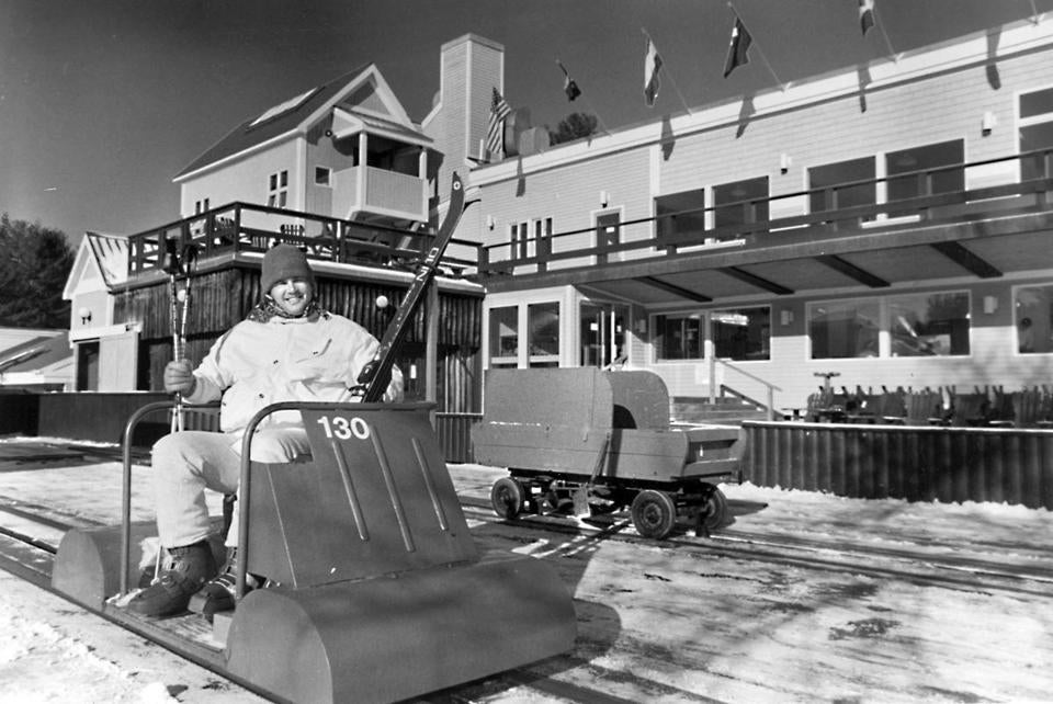 The iconic Skimobile (above) is what a lot of people remember about Cranmore, but there are many more reasons why people have flocked for years (below) to the ski area in the heart of the White Mountains.