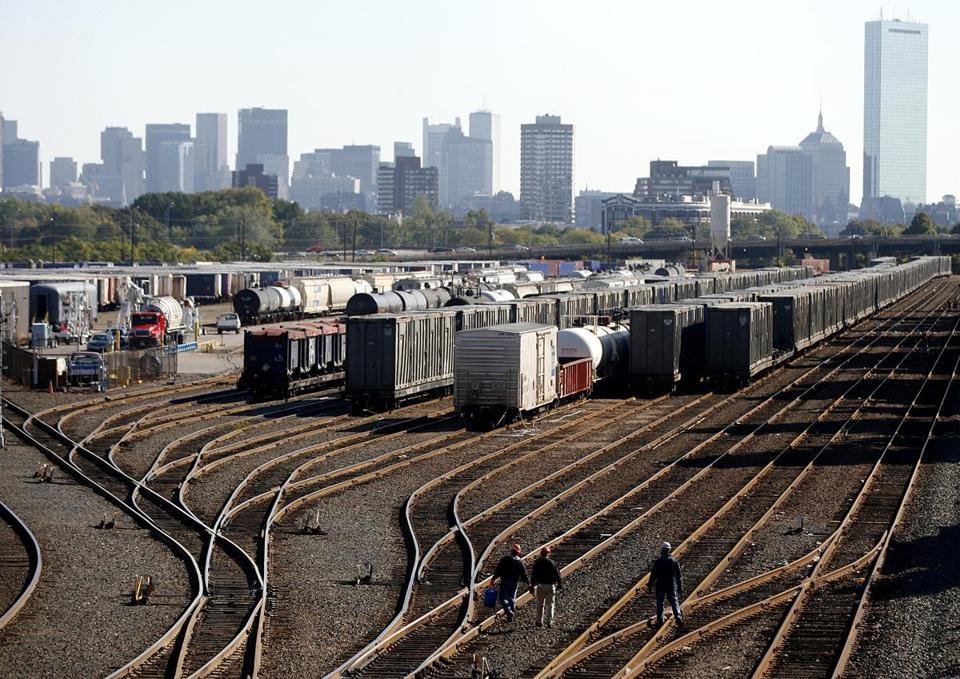 Allston Rail Yard Is Ripe For Growth The Boston Globe