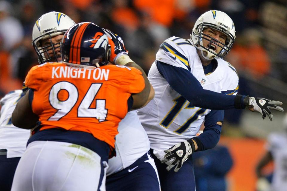 The Broncos won't beat the Patriots if they play defense like they did Sunday against Philip Rivers and the Chargers.