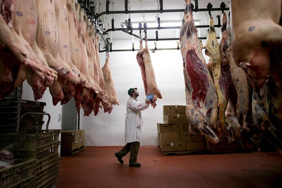 Westminster Meats in  Vermont is handling surplus business caused by a lack of slaughterhouse capacity in Massachusetts.