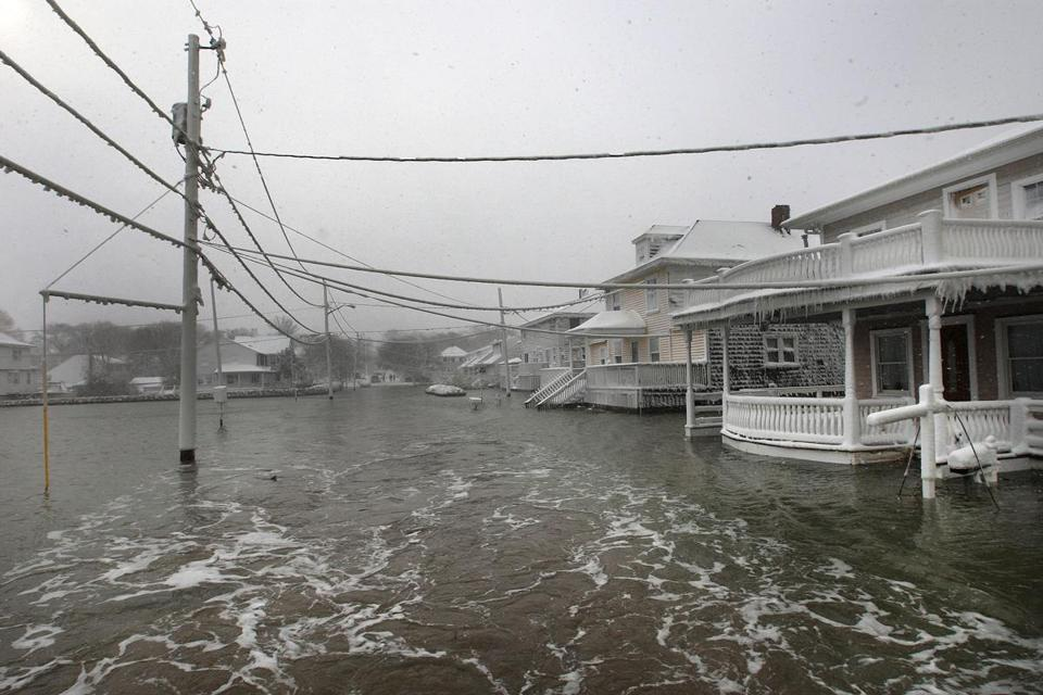 Turner Road in Scituate flooded after a February 2013 storm.