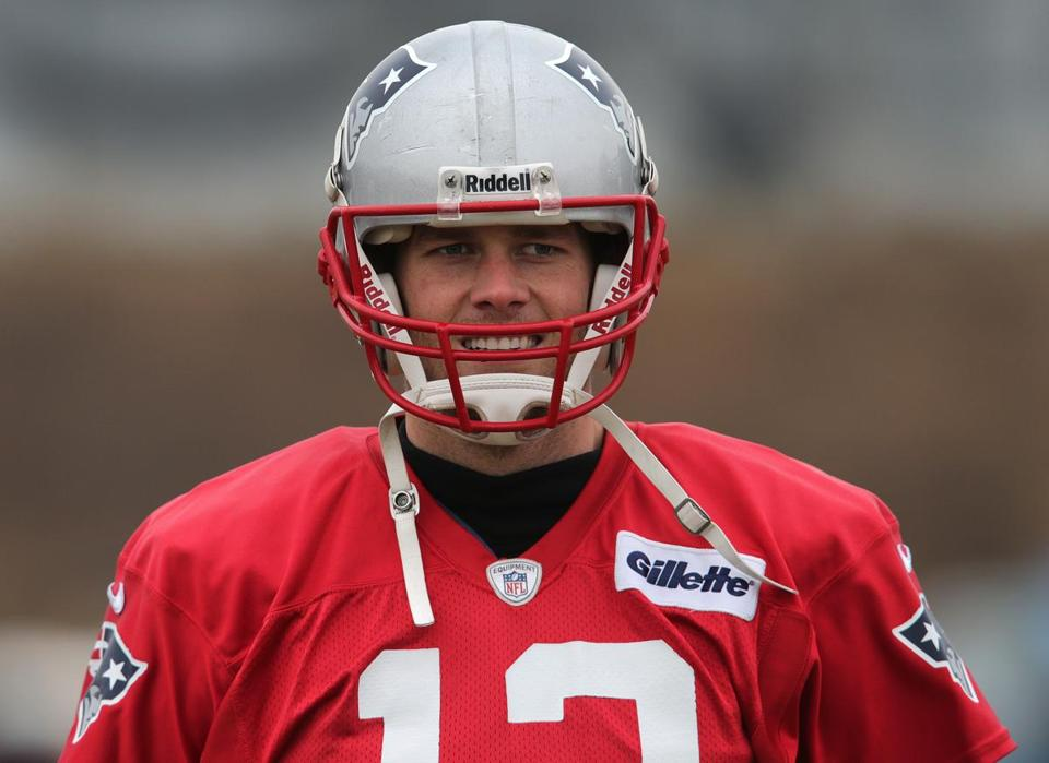 After missing practice Wednesday, Tom Brady was back on the field Thursday.