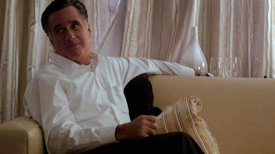 "Mitt Romney on election night, in ""Mitt."""
