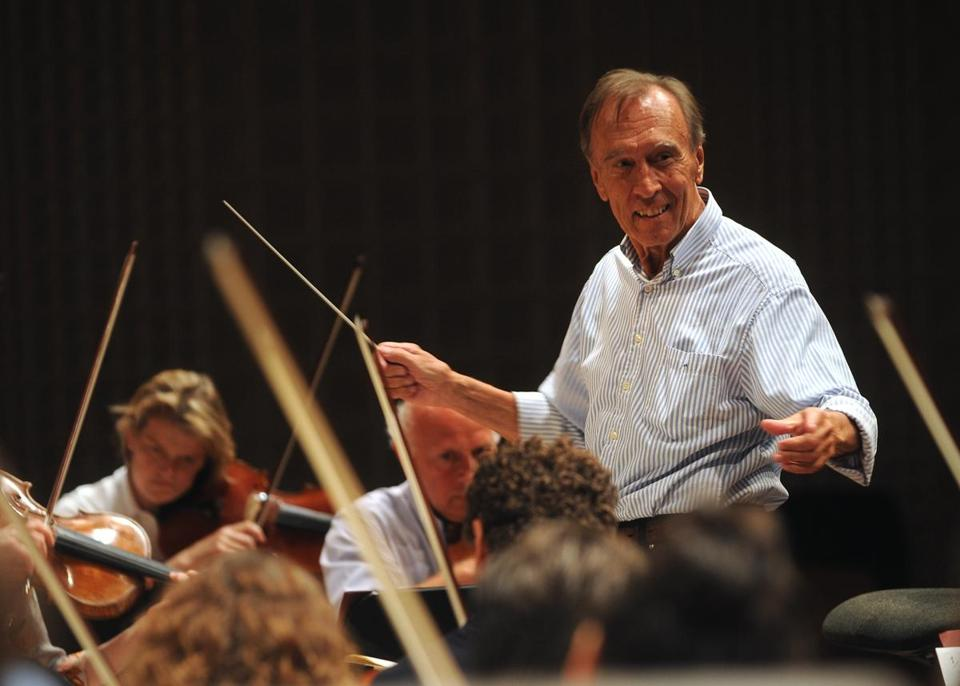 Claudio Abbado with the Lucerne Festival Orchestra he reestablished in 2003, handpicking its players.