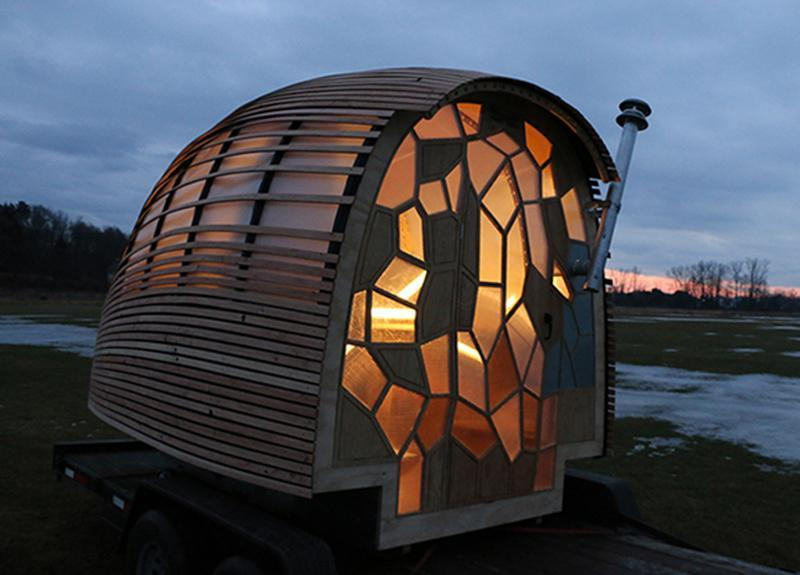 this house designed by students at green mountain college offers 70 square feet of living space - Tiny House Ideas