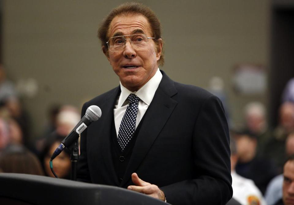 Steve Wynn testified before the state gambling commission in January.
