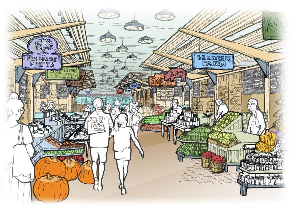 Bra Approves Plans For Public Food Market The Boston Globe