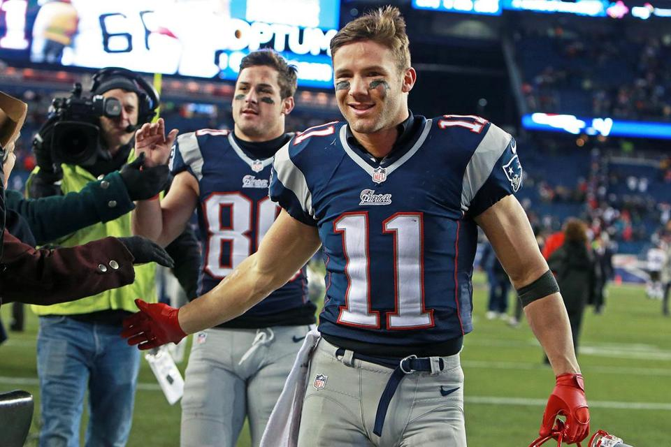 What a year for Julian Edelman, who returned to the Patriots at a minimum salary after receiving little interest on the free agent market.