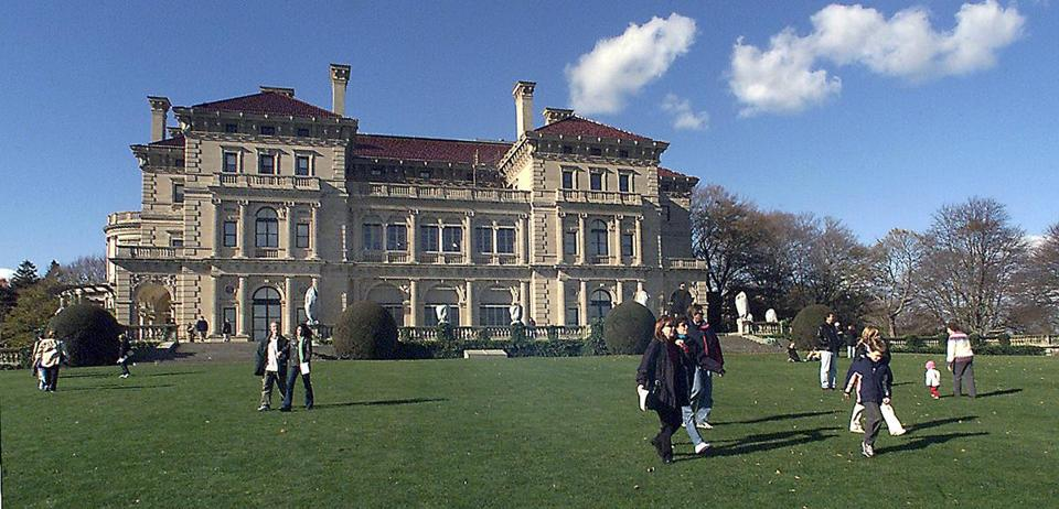 The Breakers hosts about 400,000 annual visitors.
