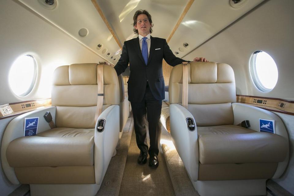 private jet business soars for the super bowl the boston globe