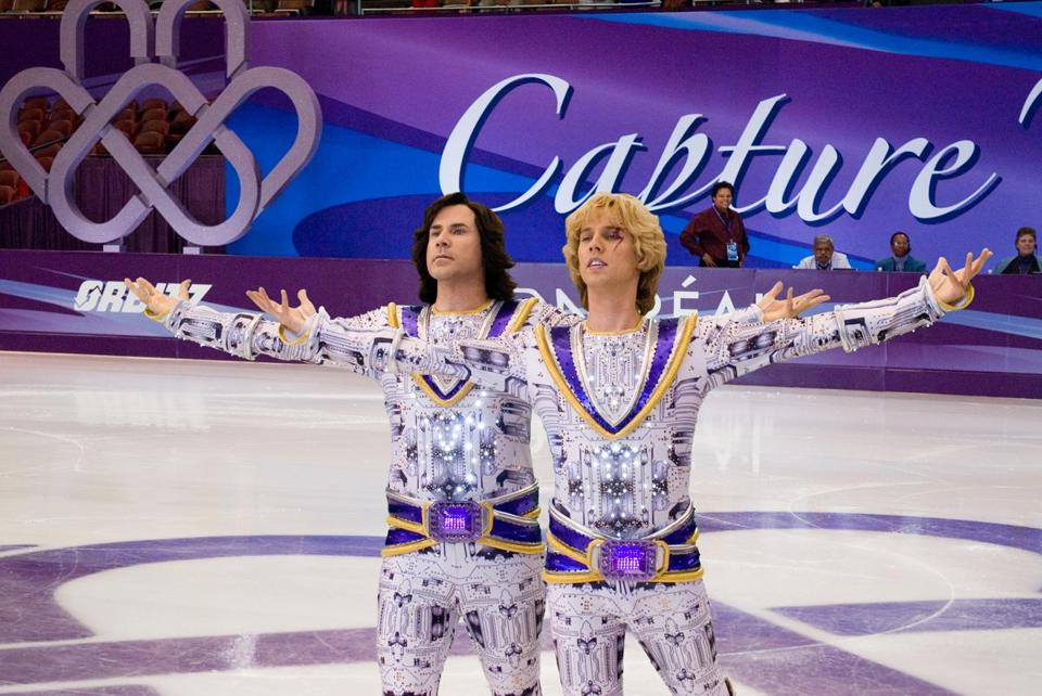 "Will Ferrell and Jon Heder in ""Blades of Glory."""