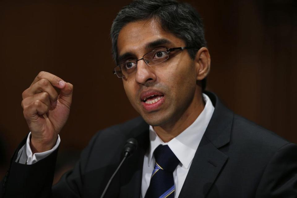 Dr. Vivek Hallegere Murthy testified on Feb. 4 before the Senate Health, Education, Labor, and Pensions Committee hearing on his nomination as surgeon general.
