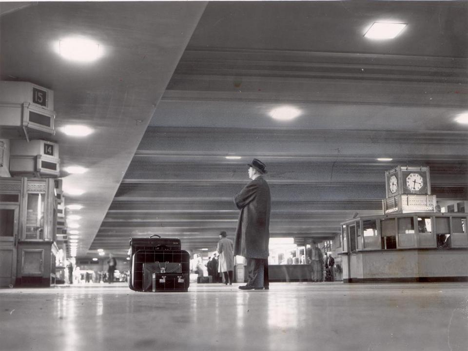 South Station in 1960.