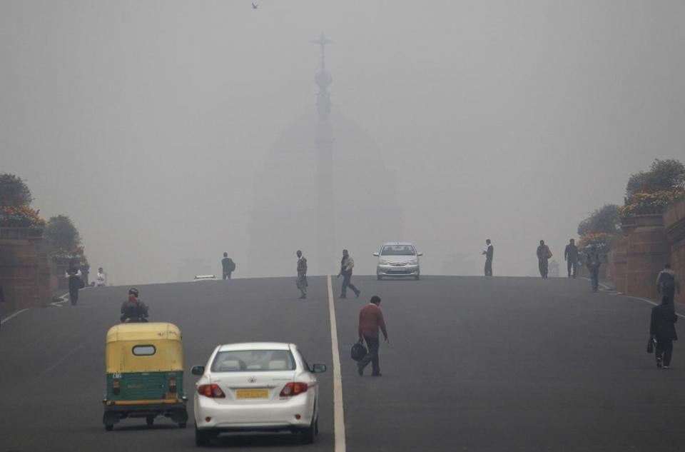 For months, particulates levels in New Delhi have been 20 times above the World Health Organization limit.