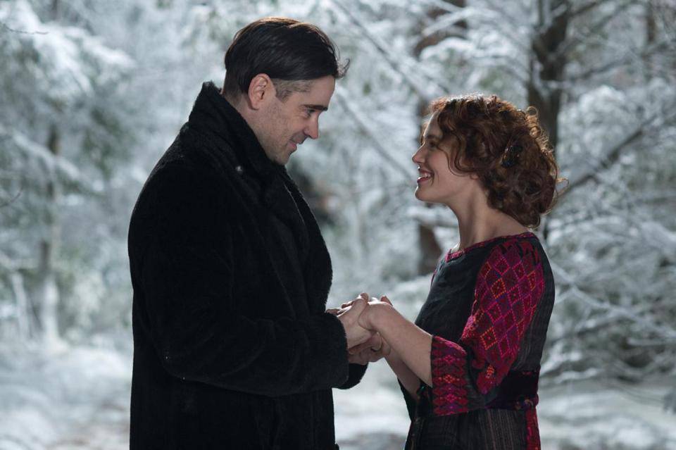 "Colin Farrell and Jessica Brown Findlay star in ""Winter's Tale,"" Akiva Goldsman's adaptation of Mark Helprin's novel."