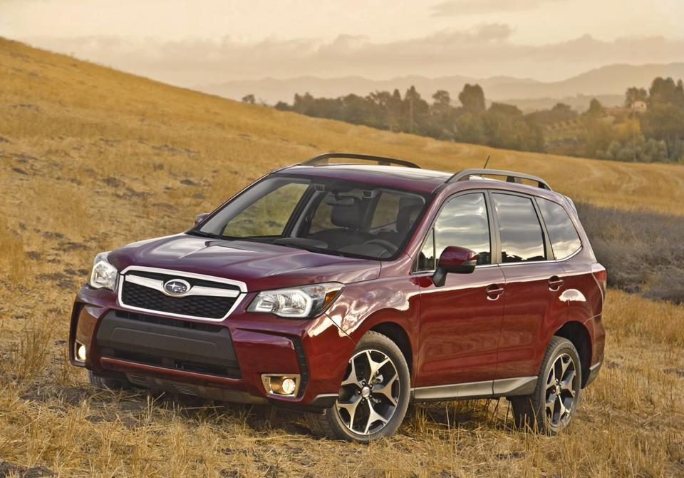 Subaru's Forrester scored high marks.