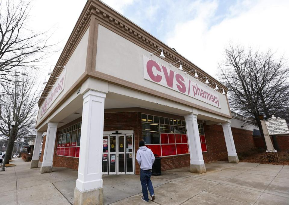 CVS says the move won't affect its 2014 forecast.