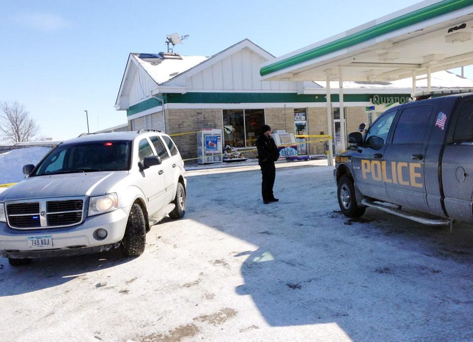 The infant was found in single-digit temperatures in a storage crate at an Iowa gas station.