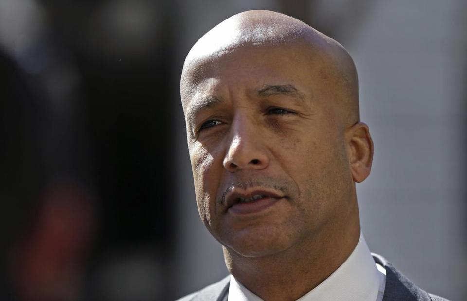New Orleans' ex-mayor, Ray Nagin, downplayed his role in approving city contracts.