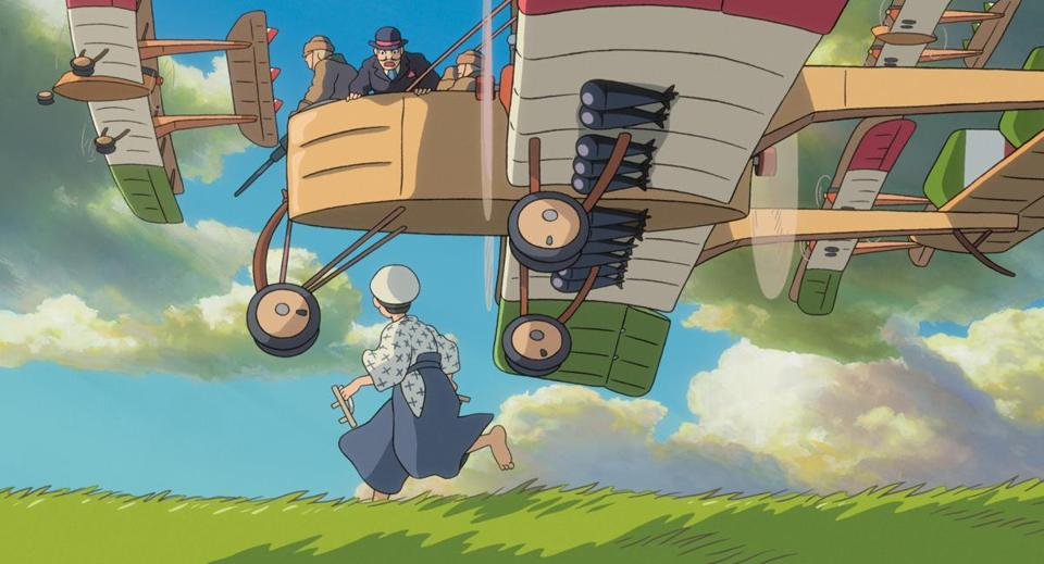 "A scene from ""The Wind Rises,"" which is the latest animated feature from Hayao Miyazaki."