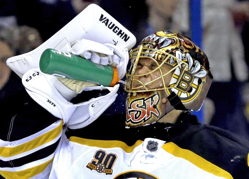 Bruins goalie Tuukka Rask said he's heartened by the development of the team's young defensemen.