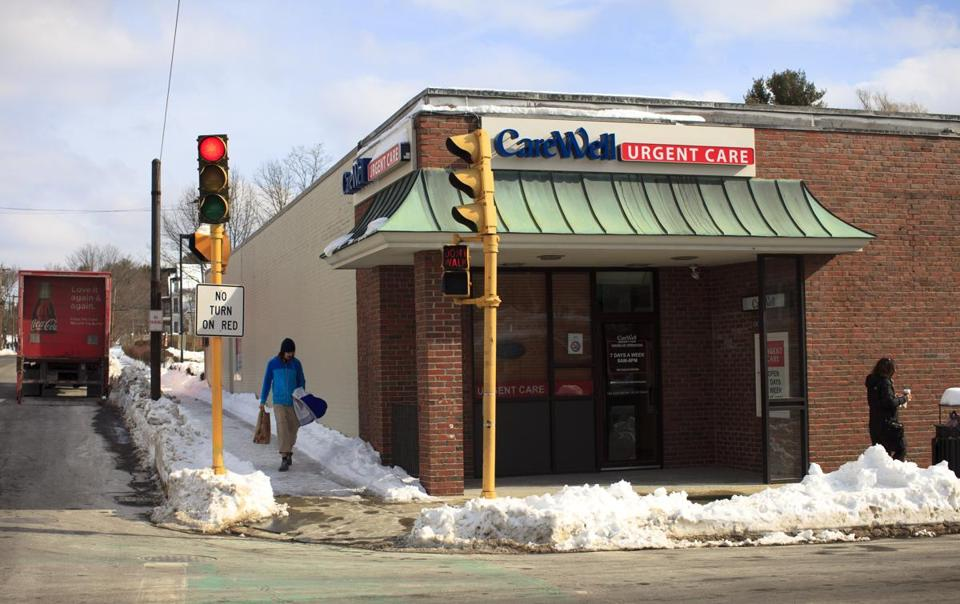 A CareWell Urgent Care location in Needham.