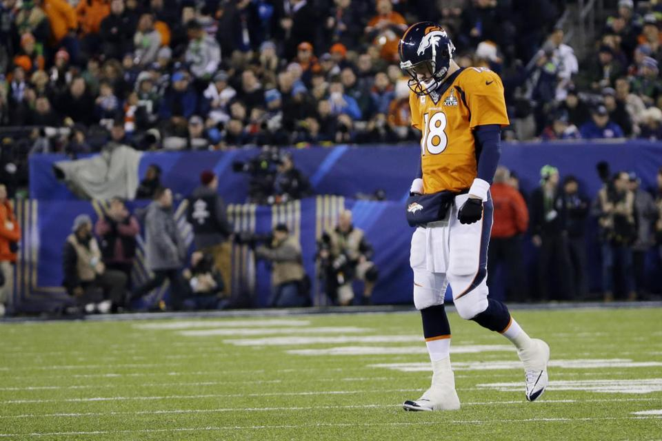 Peyton Manning's place in history is secure even with a loss in last week's Super Bowl.