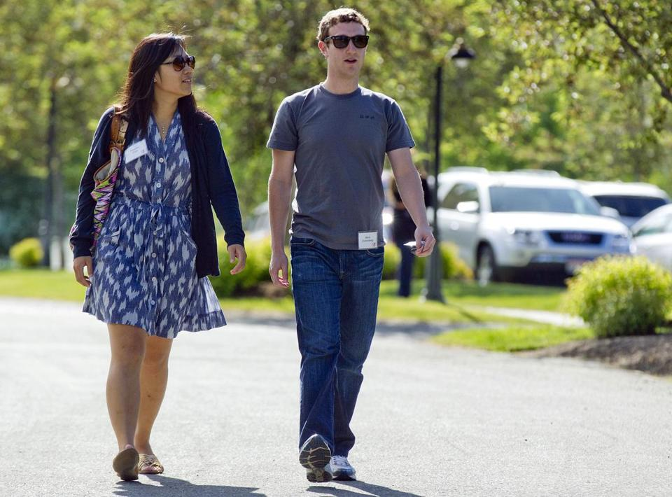 Mark Zuckerberg and his wife, Priscilla Chan, donated 18 million shares of Facebook stock last year, valued at more than $970 million.