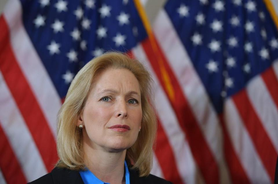 Senator Kirsten Gillibrand said the records indicate some commanders refuse to prosecute sex assault cases.