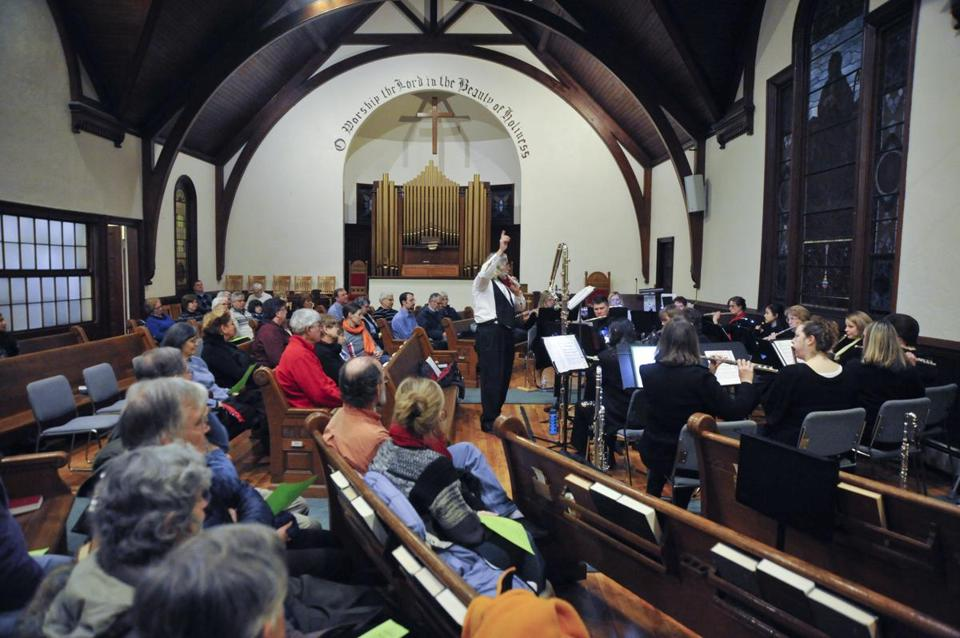 A flute concert by the Harmonie Transverse ensemble was this month's Second Saturday activity at South Acton Congregational Church.
