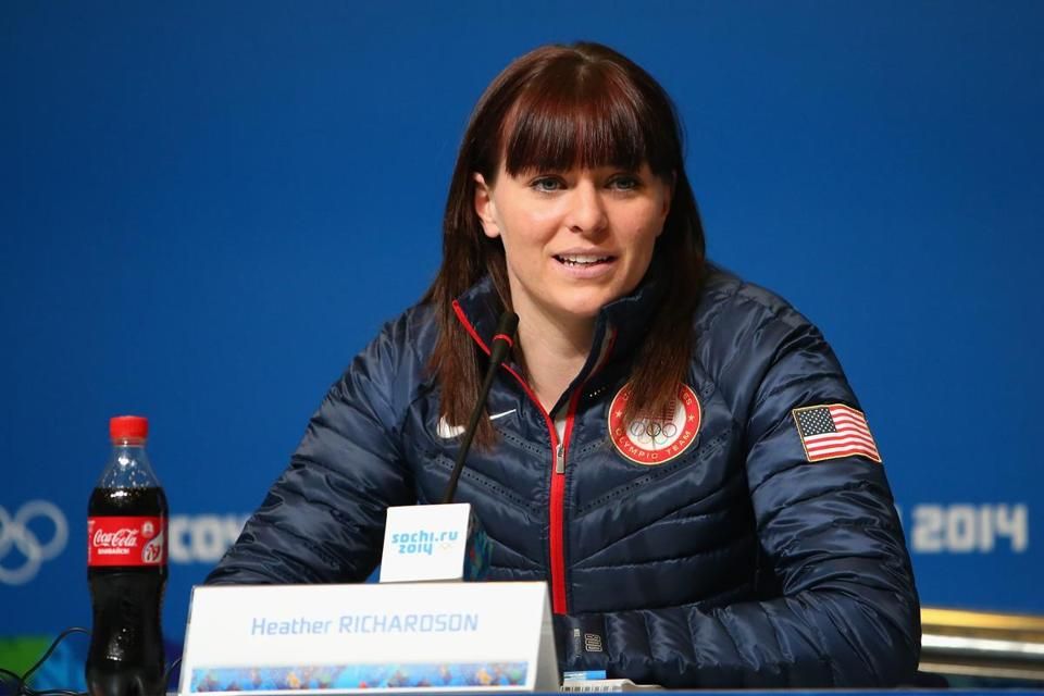 Heather Richardson is looking to win a gold in women's speedskating for the US.