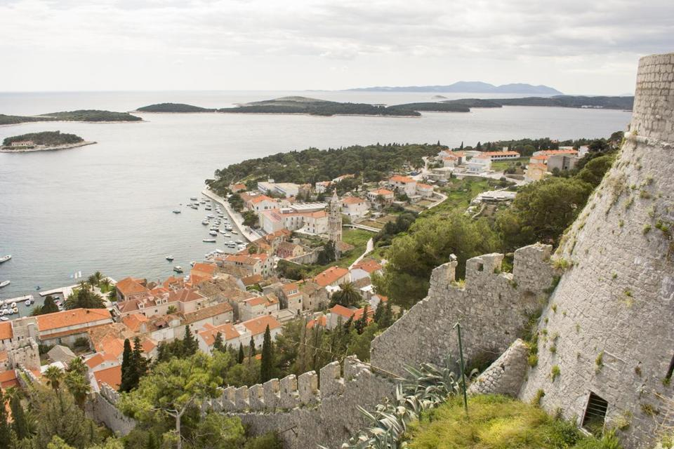 Hvar, an island city off the Dalmatian coast, now an Adriatic hot spot, was once a key outpost of the Venetian empire.